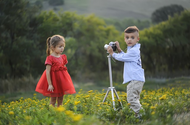 fotografování dětí